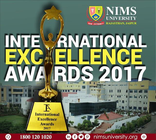International Excellence Award : Nims University