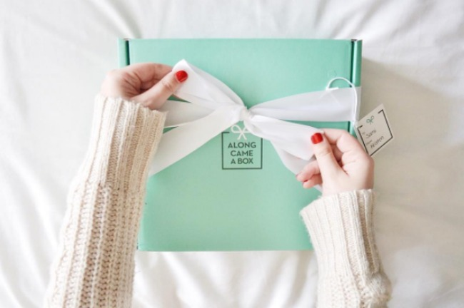 Along came a box gift subscription box service