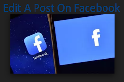 Edit A Post On Facebook