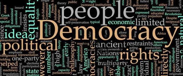 Không thiết chế chính thể dân chủ là không thể có dân chủ