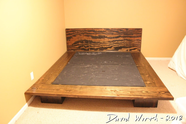 build cheap platform bed plans