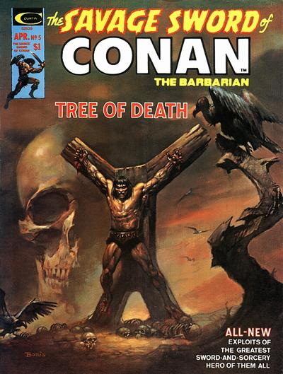Marvel Comics, Savage Sword of Conan  #5