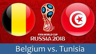 مشاهدة مباراة بلجيكا و تونس بث مباشر - TUNISIA vs BELGIUM Live