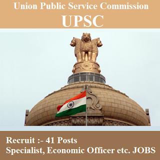 Union Public Service Commission, UPSC, Post Graduation, Specialist, Economic Officer, freejobalert, Sarkari Naukri, Latest Jobs, upsc logo