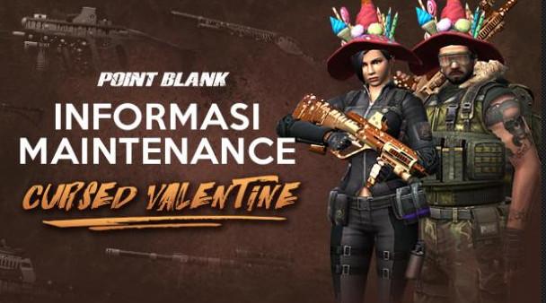 Maintenance PB Garena 28 Februari 2017 Hari Ini Seri Cursed Valentine