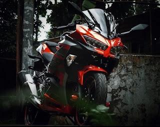 design depan belakang Kawasaki Ninja 250 cc 2018