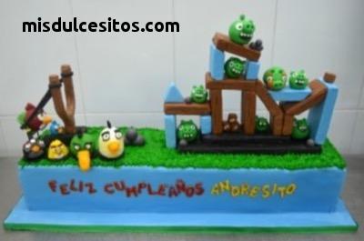 Tortas Infantiles Angry Birds. Venta de tortas para cumpleaños infantiles en todo Lima