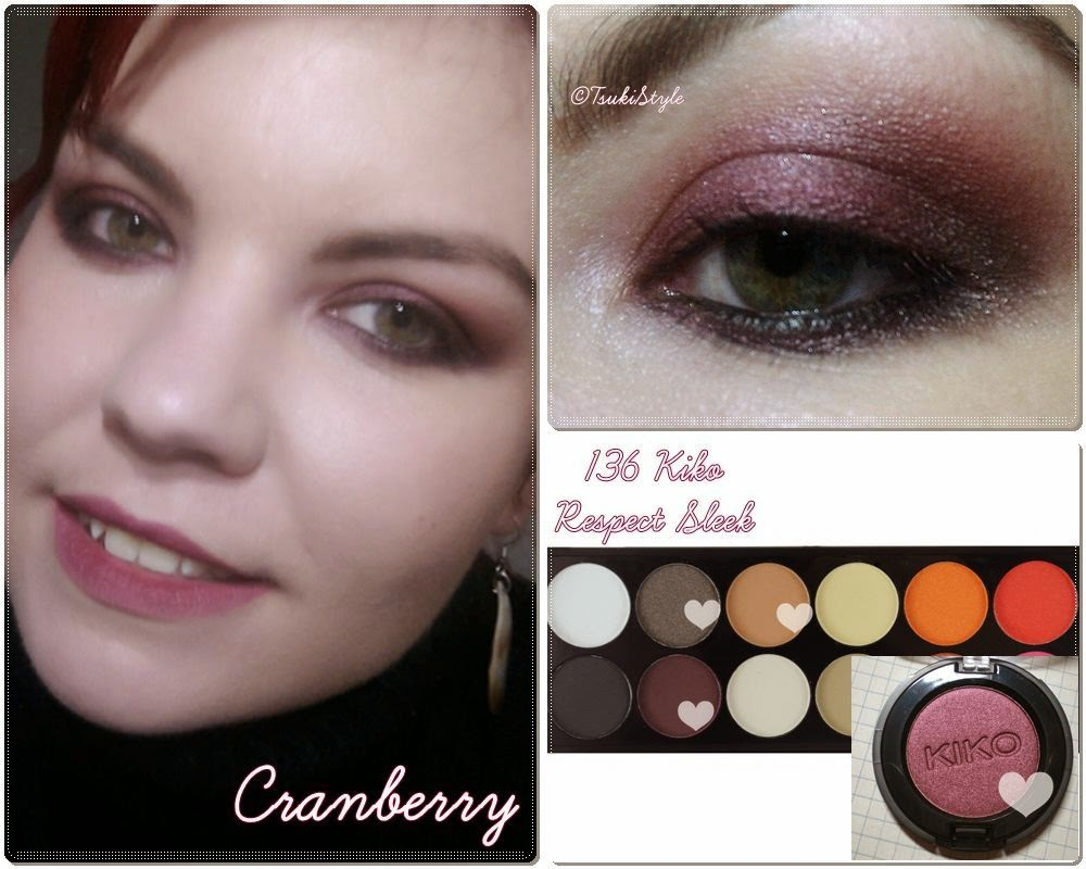look makeup kiko sleek cranberry mac clon