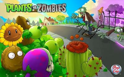 Juego para móviles Android Plants vs Zombies 2
