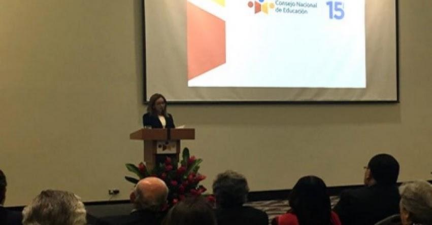 MINEDU: Ministra Martens destaca apoyo del Consejo Nacional de Educación a las políticas del Minedu - www.minedu.gob.pe