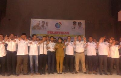 Bupati Tulang Bawang Berharap Pelantikan DPD dan DPC AJO Indonesia Lampung Menjadi Lembaga Berintegritas dan Profesional