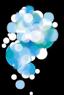 Sparkle effect bubbles pngs