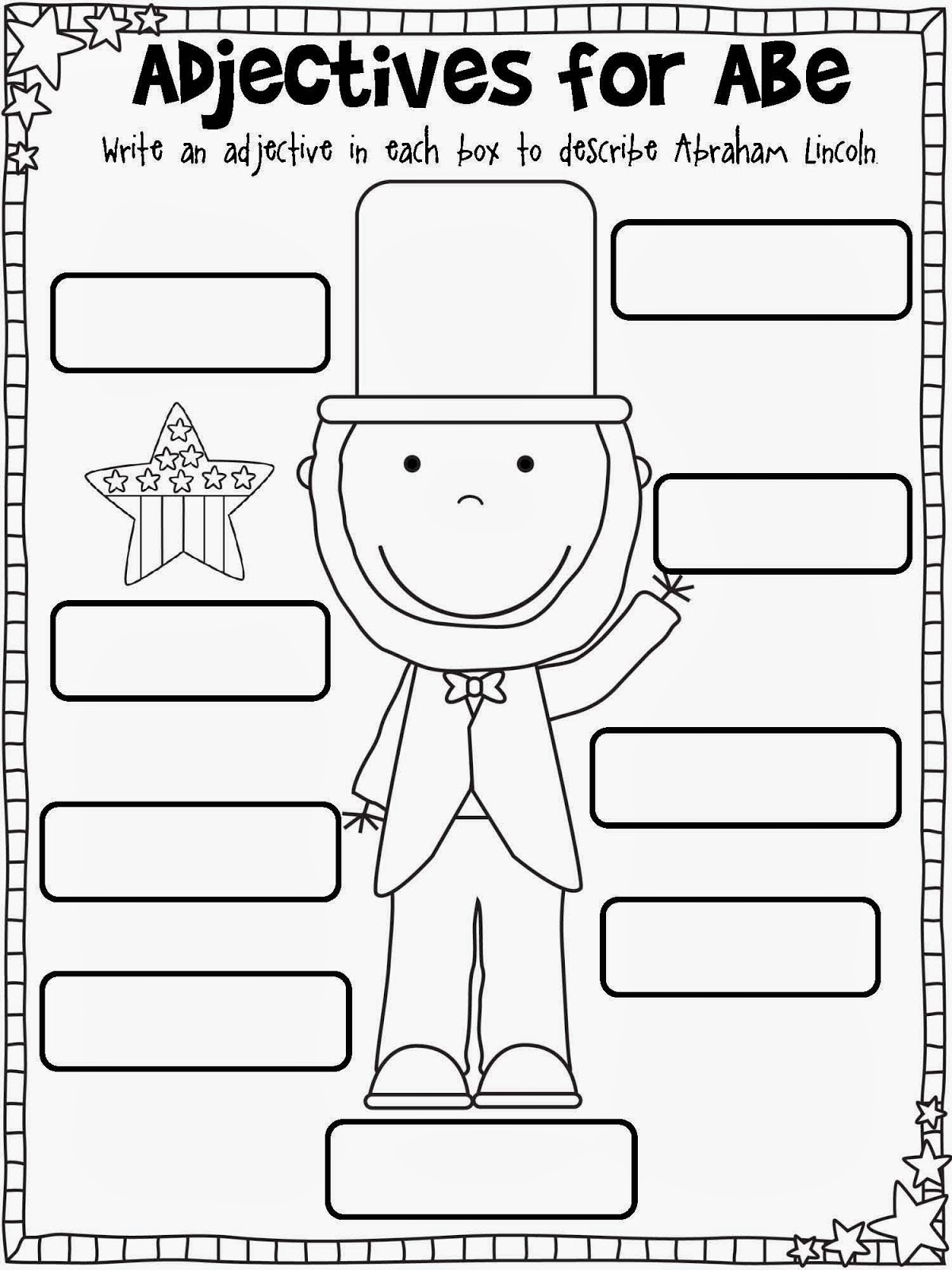 7th Grade Abraham Lincoln Worksheets   Printable Worksheets and Activities  for Teachers [ 1600 x 1200 Pixel ]