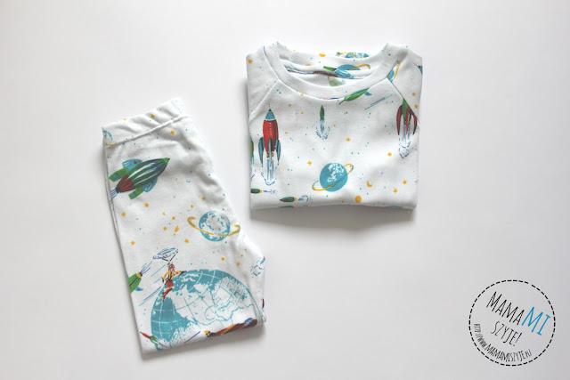 piżama dla przedszkolaka