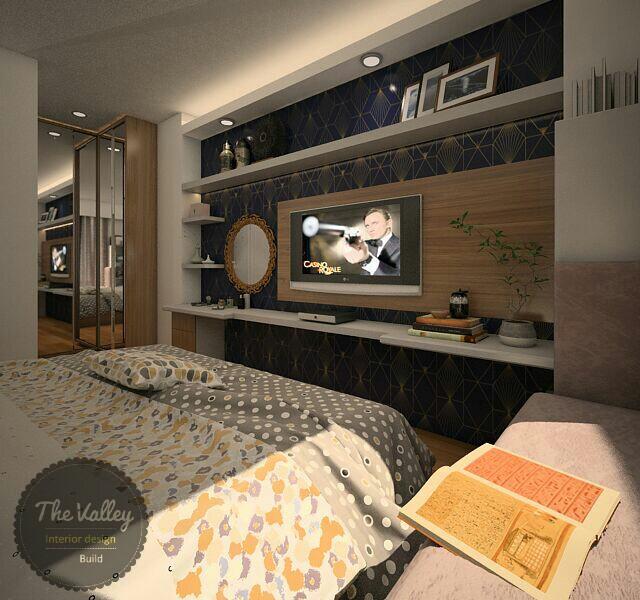 Desain Interior Kamar Tidur Mewah