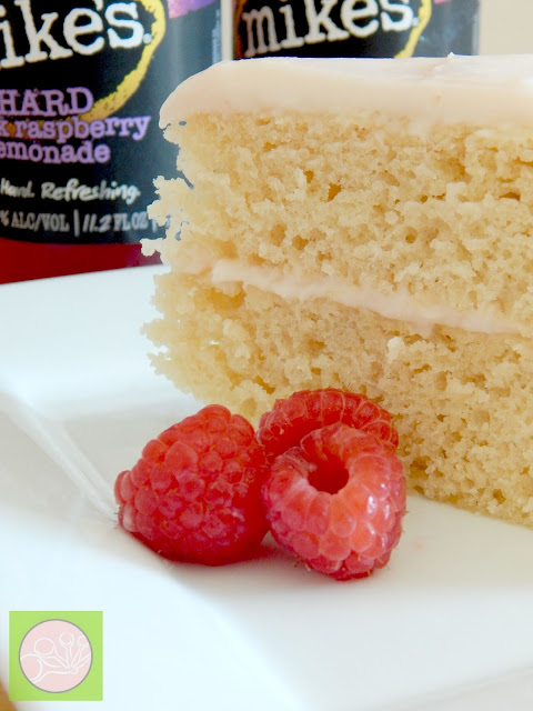 raspberry lemonade cake mike's hard lemonade (sweetandsavoryfood.com)