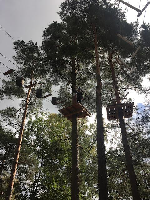 Elämyksiä köysiseikkailupuistoissa Suomessa ja ulkomailla 4