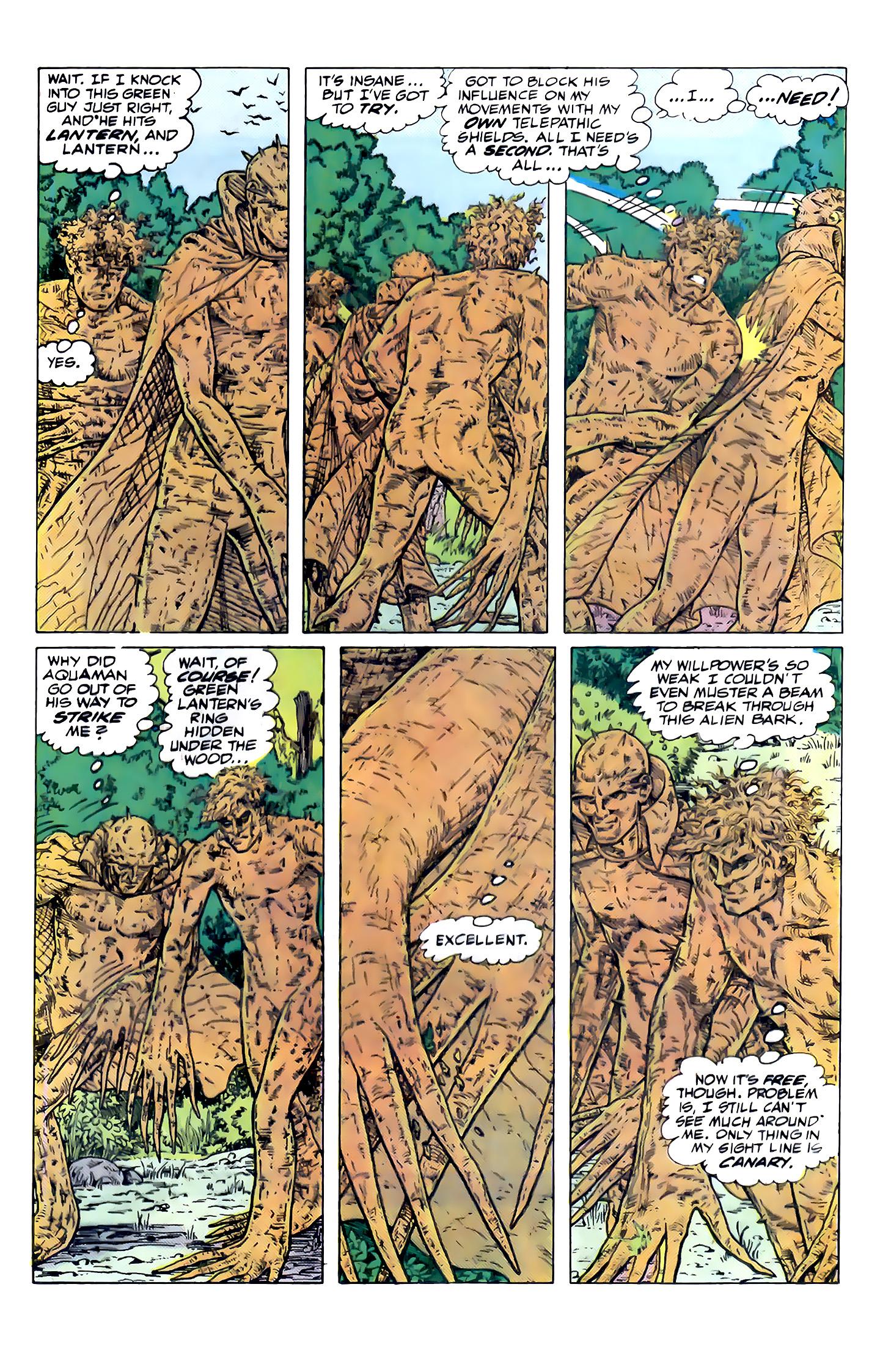Read online Secret Origins (1986) comic -  Issue #32 - 32
