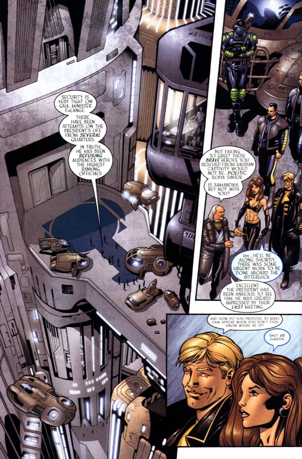 Read online Sigil (2000) comic -  Issue #21 - 10
