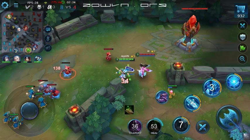 heroes evoled aowvn%2B%25284%2529 - Heroes Evolved - Game MOBA tuyệt hay trên Android & IOS