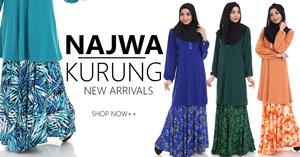 Baju Kurung Najwa 2016