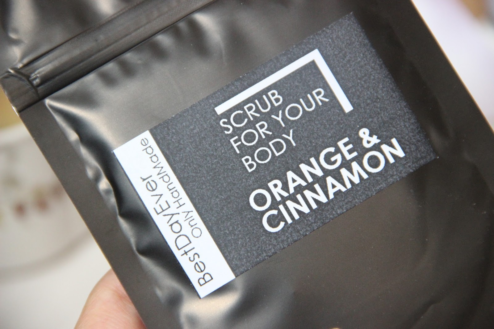 "Best Day Ever - скраб для тела Scrub for your body Orange and Cinnamon ""Апельсин и корица""."