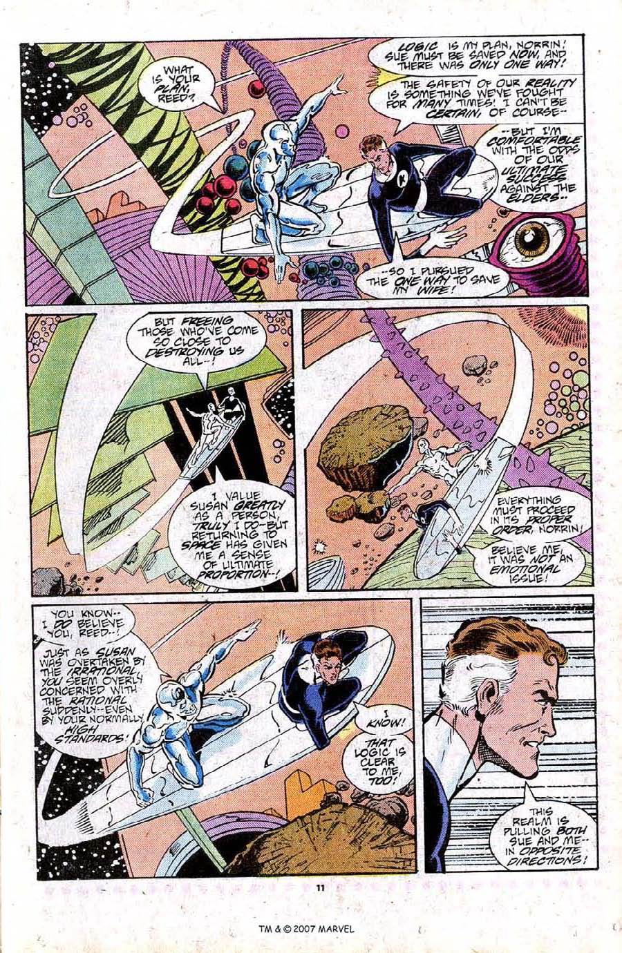 Read online Silver Surfer (1987) comic -  Issue #16 - 13
