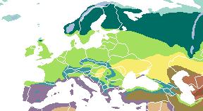 Vegetasi di Eropa