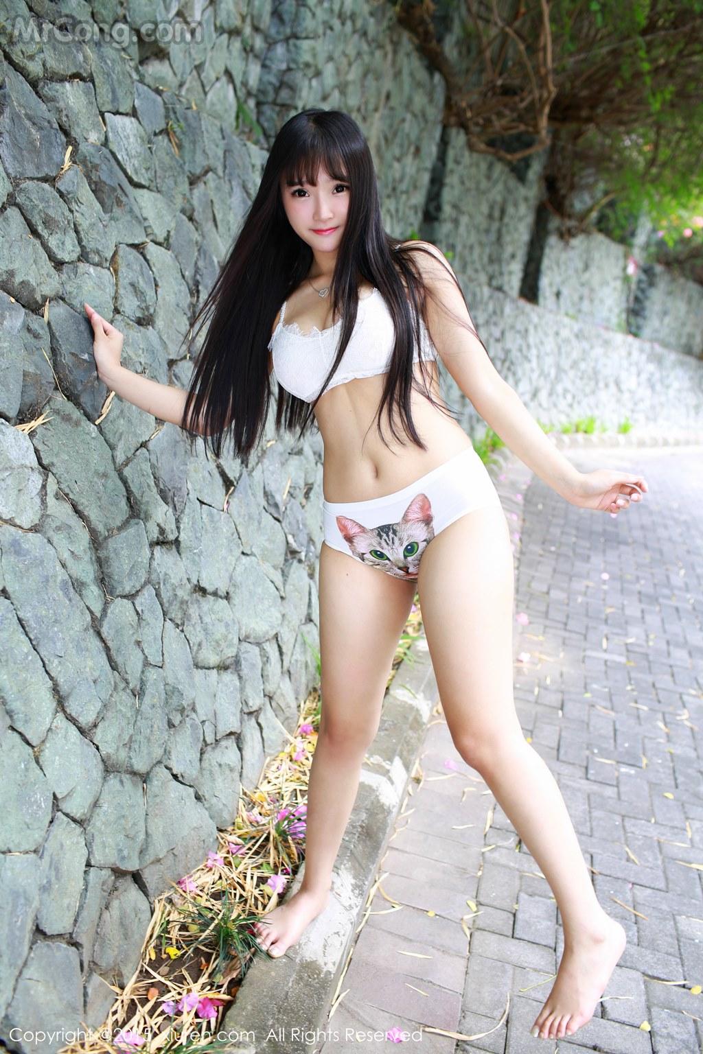 MrCong.com XIUREN No.409 Xia Yao baby 027 - XIUREN No.409: Model Xia Yao baby (夏 瑶 baby) (56 photos)
