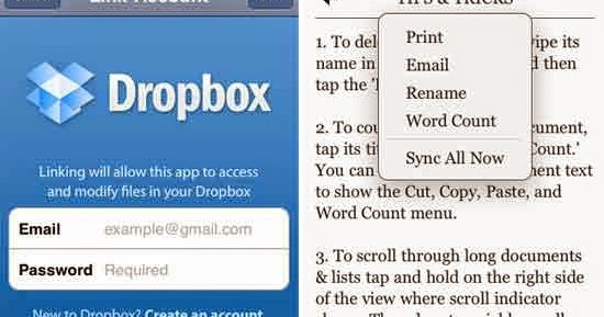 Guide to Linking a Dropbox Account with your Samsung Galaxy