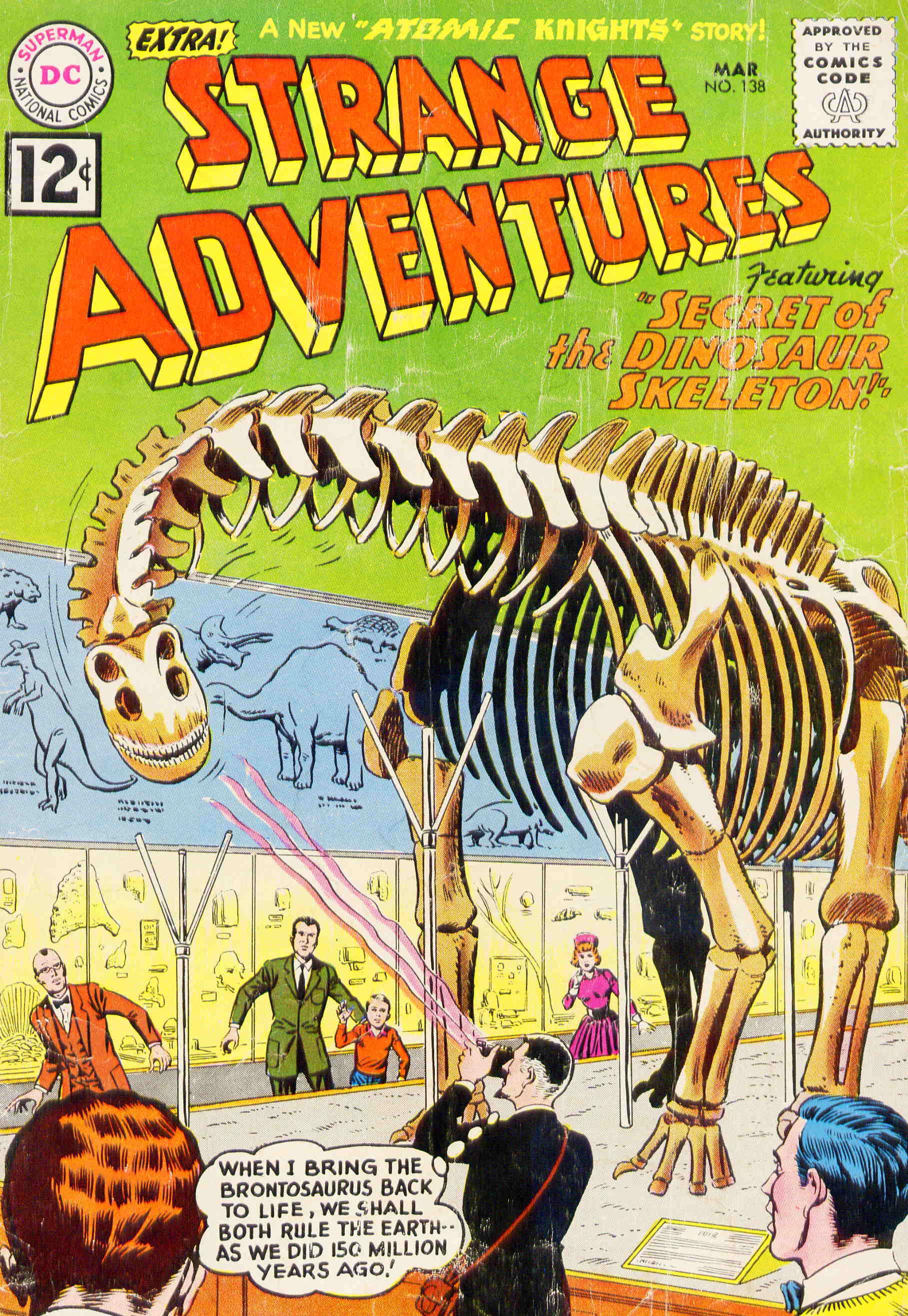 Strange Adventures (1950) issue 138 - Page 1