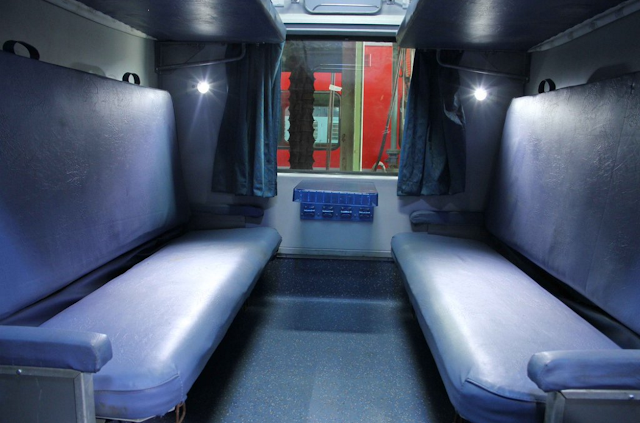 AC Suvidha Express 22840 interior