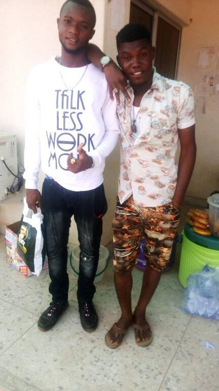 Educated Tout: Yunique (Ozi Ori) Just Finished His ND Program In KSP; See Photos.