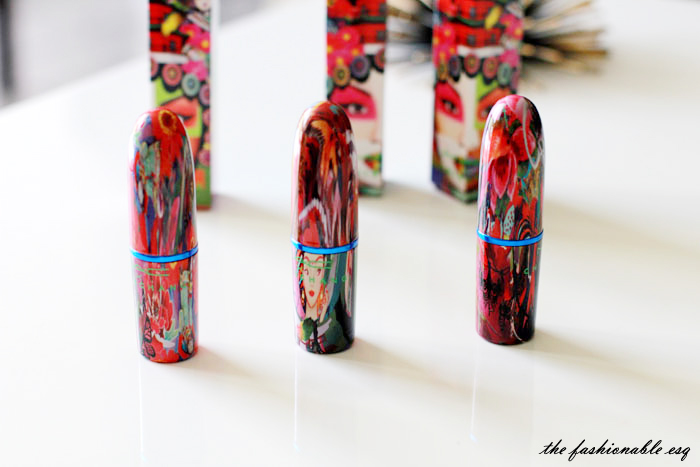 Chris Chang x Mac Lipstick tubes are gorgeous, like works of art