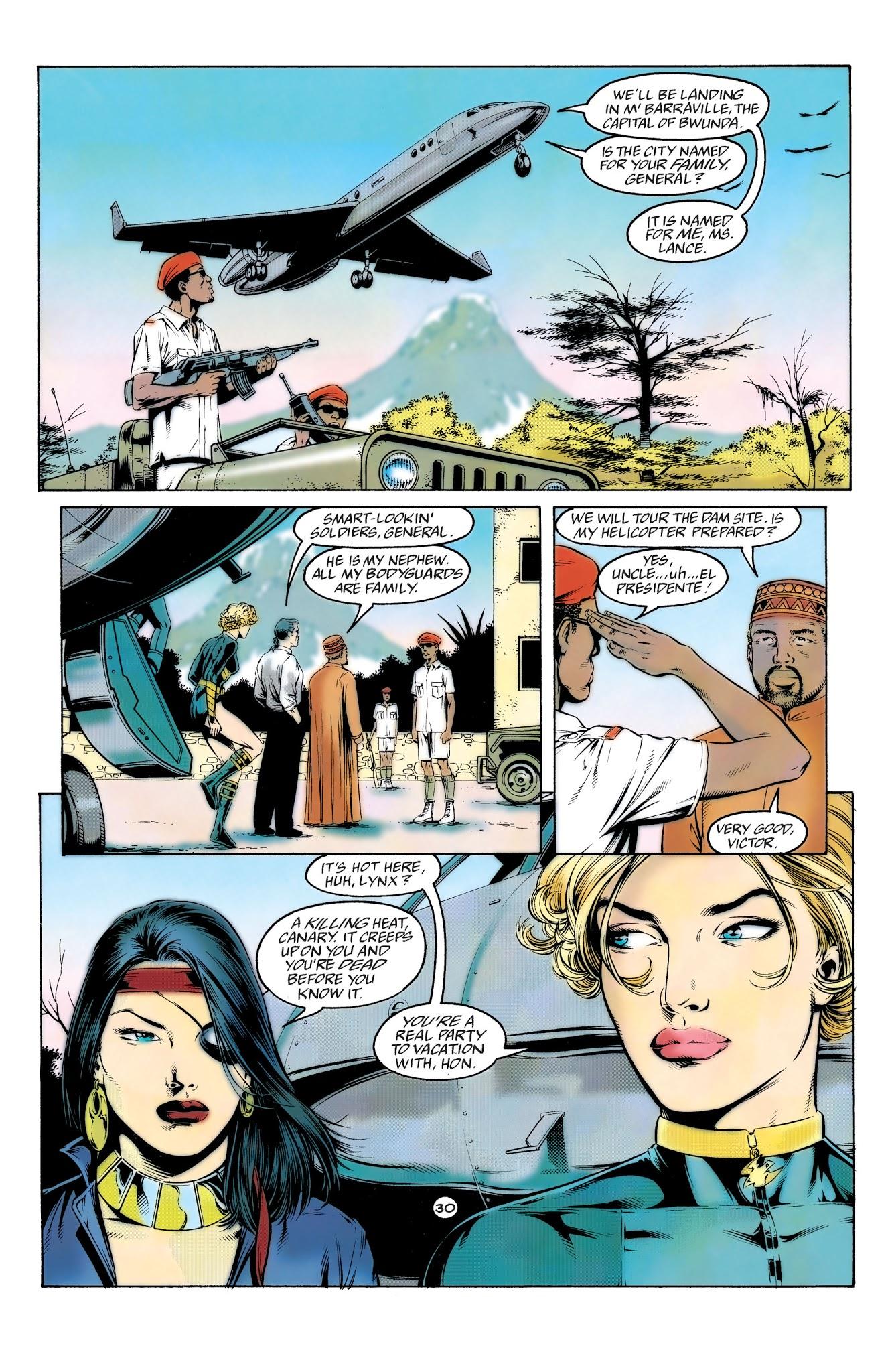 Black Canary Oracle Birds Of Prey Full Read Black Canary Oracle Birds Of Prey Issue Full Page 30