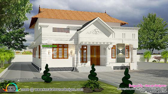1448 sq-ft single floor villa