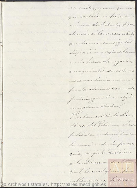 Page 4, Creation of the New Pueblo of Cuenca.