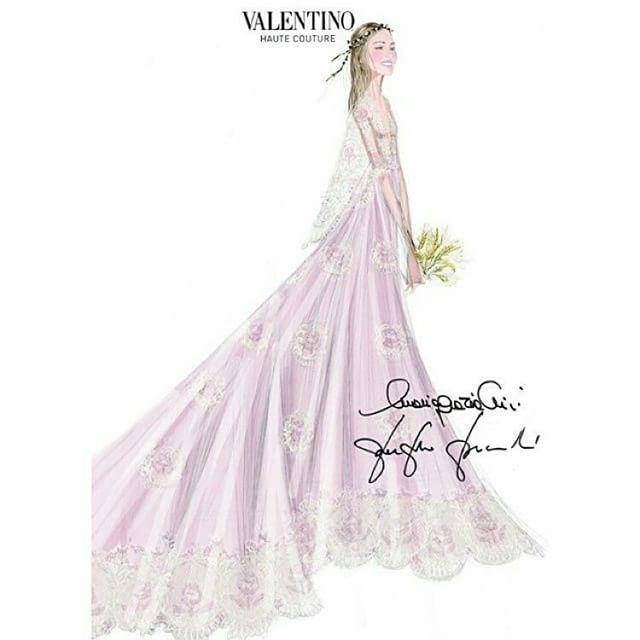 Beatrice Borromeo In Valentino Couture Wedding Dress The Royal