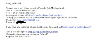 cara memasang banner iklan di blog