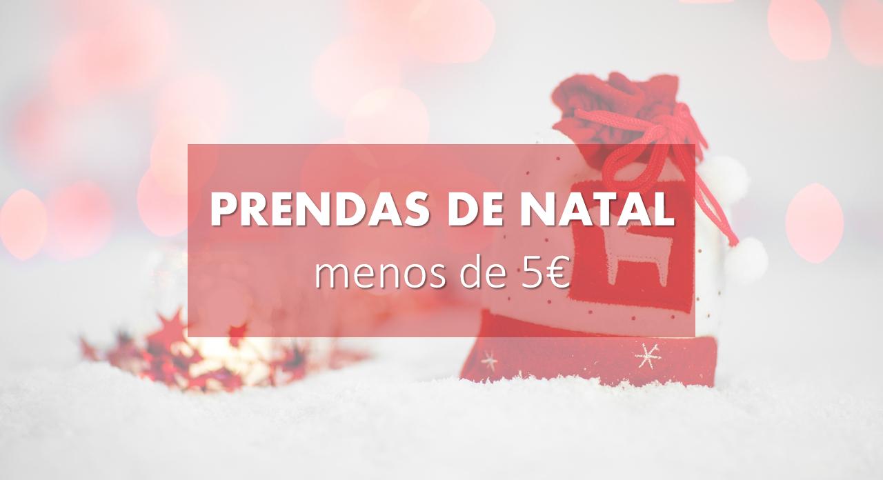 Sugestões de prendas de Natal por menos de 5 €