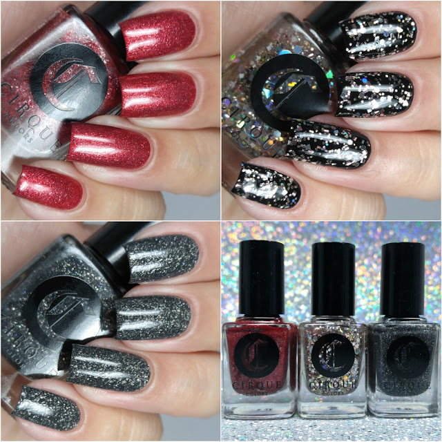 Cirque Colors x Live Love Polish - New Year, New York Collection