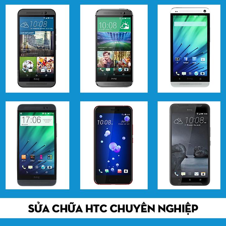 thay màn hình HTC One E9 Dual khi bị hỏng