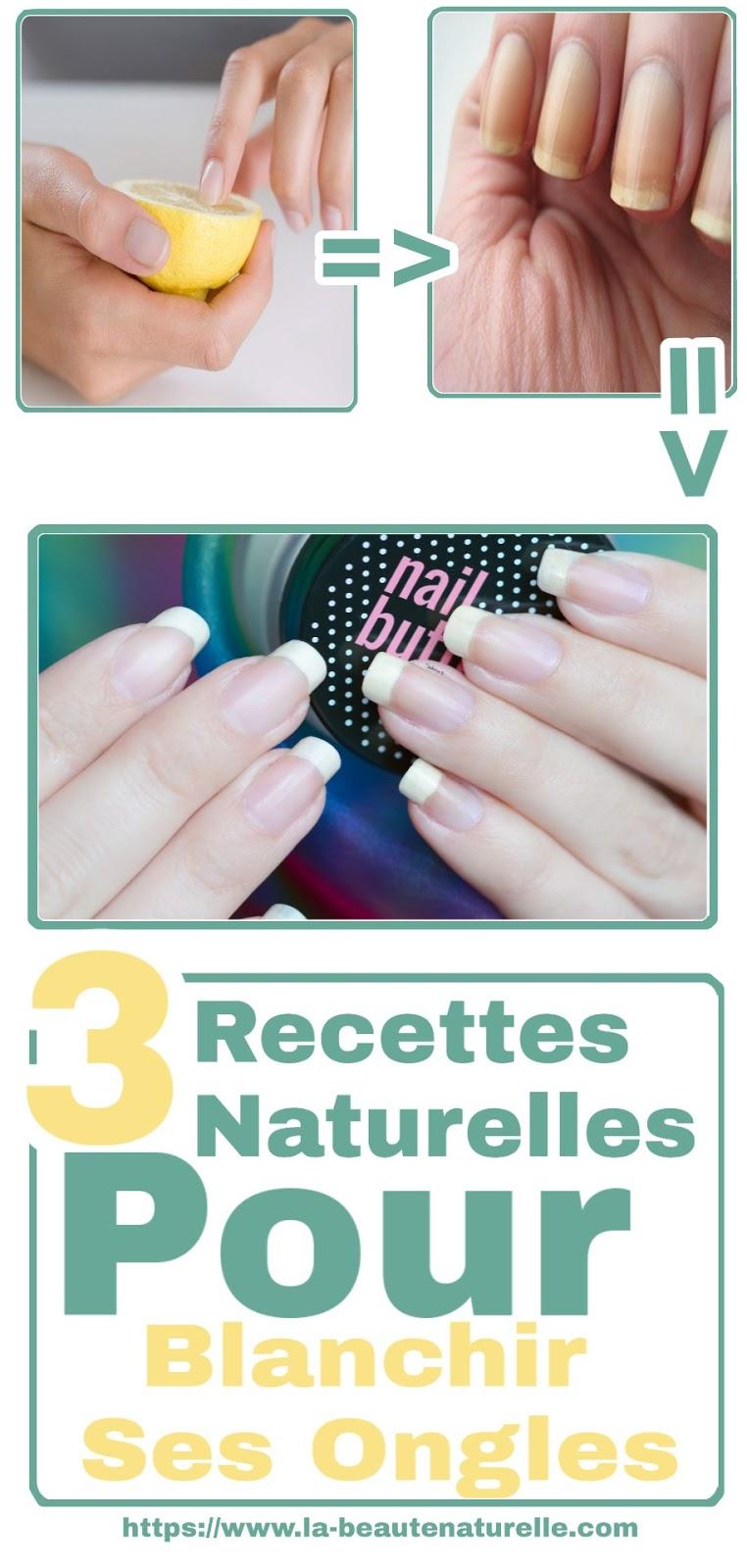 3 Recettes Naturelles Pour Blanchir Ses Ongles
