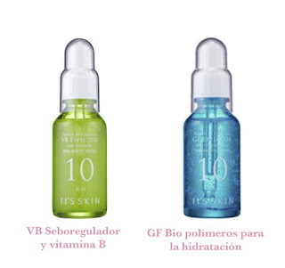 Serum VB sobreregulador y GF hidratación de Its Skin
