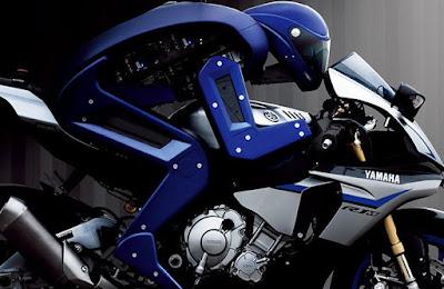 Yamaha Ciptakan Robot Balap untuk Kalahkan Rossi