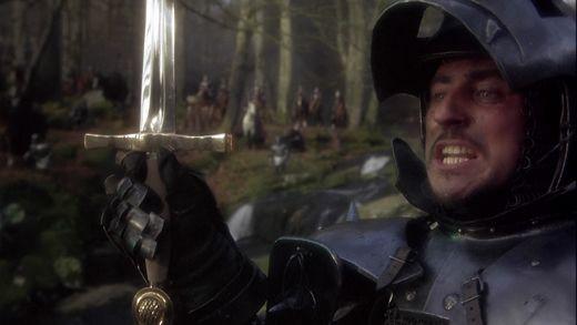 Uther Pendragon dans Excalibur dépend de la puissance de son épée