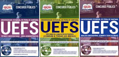 Apostila para concurso UEFS - Universidades Estaduais da Bahia