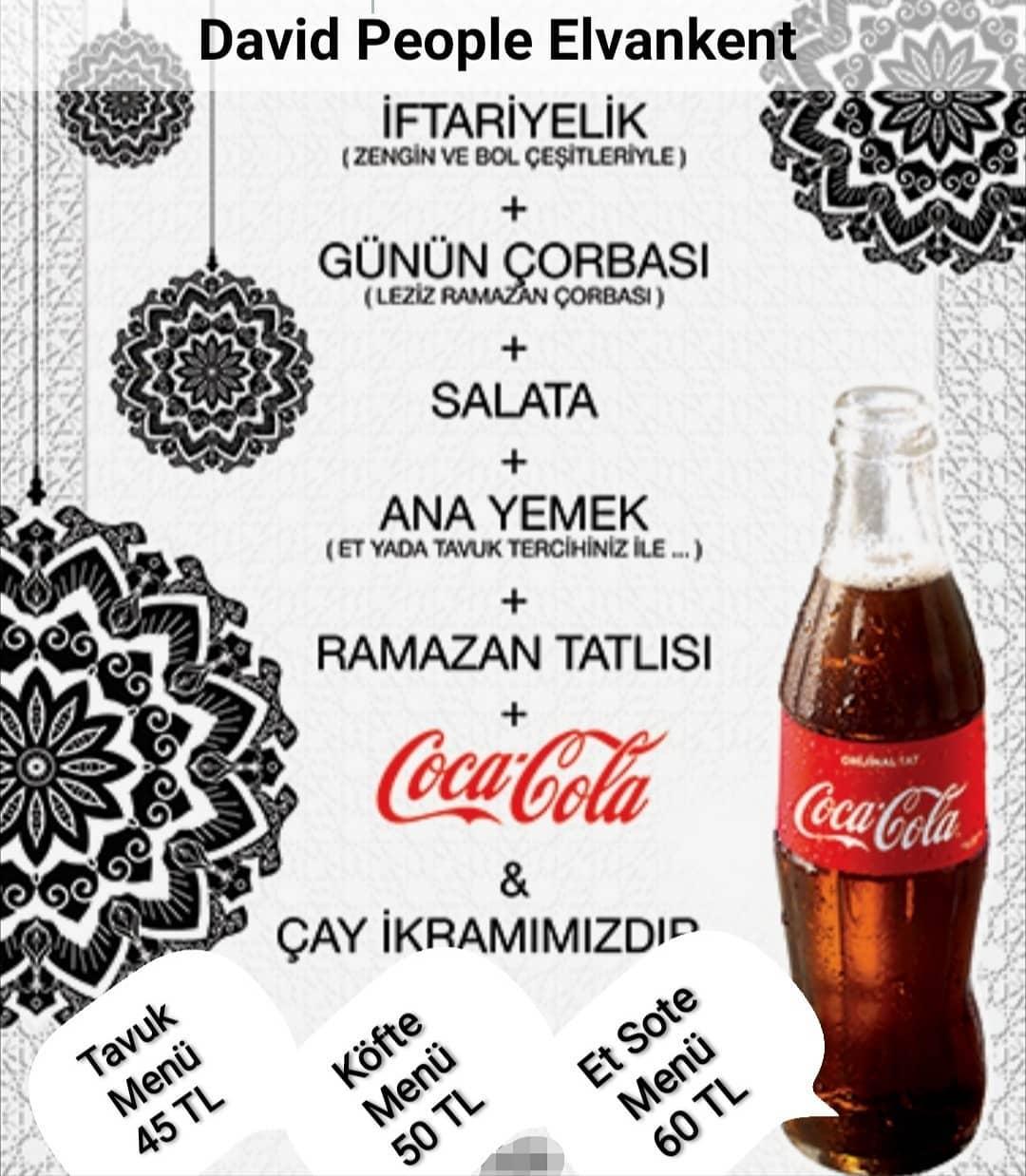 david people elvankent iftar menüleri elvankent iftar menüsü fiyatları ankara elvankent iftar mekanları ramazan menüsü