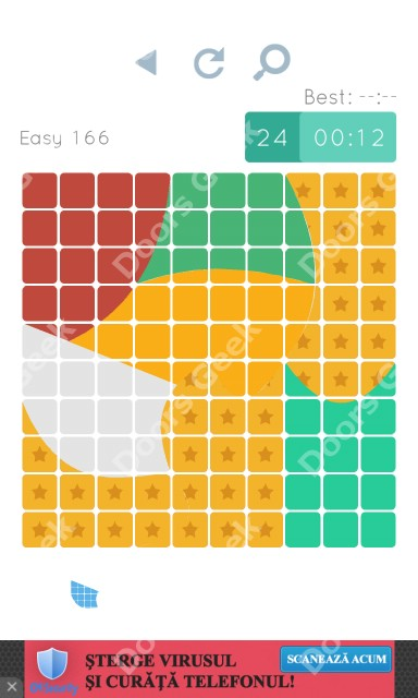 Cheats, Walkthrough for Blocks and Shapes Level 166