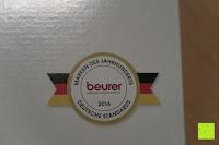 Marke: Beurer HK 44 Heizkissen (elektrische Wärme in Wärmflaschenform)